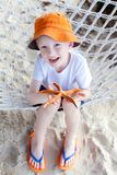 Boy at vacation Stock Photography