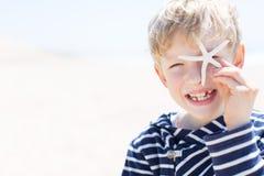 Boy at vacation Royalty Free Stock Image