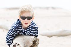 Boy at vacation Royalty Free Stock Images
