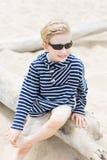 Boy at vacation Royalty Free Stock Photography