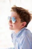 Boy on vacation Stock Image