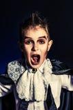 Boy vampire Stock Image