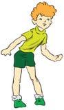 Boy Vector illustration Stock Image