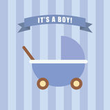 It is a boy Royalty Free Stock Photo