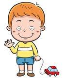 Boy. Vector illustration of Cartoon Boy Stock Image