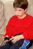 Boy video game Stock Photo