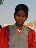 Boy from a Village school in Rajasthan, India Royalty Free Stock Photo