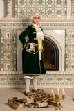 Boy in vintage costume Royalty Free Stock Image