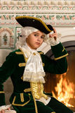 Boy in vintage costume Royalty Free Stock Images
