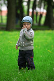 Boy on a walk Stock Photos