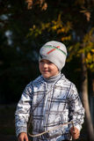 Boy on a walk Stock Photography