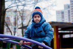 Boy on a walk Royalty Free Stock Photography