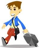 Boy walking Stock Photography