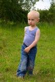 Boy walking Stock Images