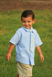 Boy Walking In The Park Royalty Free Stock Images