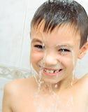Boy washing Royalty Free Stock Photography