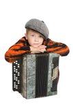 Boy wearing a cap Royalty Free Stock Image