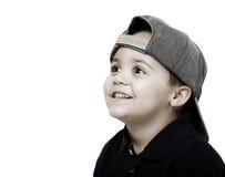 Boy wearing cap Royalty Free Stock Image