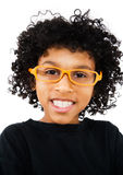 Boy Wearing Eyeglasses Royalty Free Stock Image