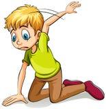 A boy wearing a green shirt Royalty Free Stock Photos