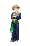Boy wearing oriental costume Royalty Free Stock Photo