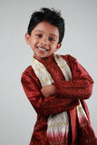 Boy wearing traditional dress Royalty Free Stock Photo