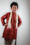 Boy wearing traditional dress Royalty Free Stock Photos