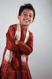 Boy wearing traditional dress Royalty Free Stock Image