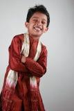Boy wearing traditional dress Royalty Free Stock Image