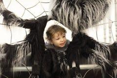 Boy and web Stock Photos
