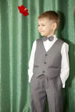 The boy at which all is good Royalty Free Stock Photo