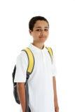 Boy On White Background Stock Image