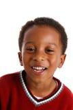 Boy On White Background royalty free stock photography