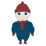Boy in winter clothes Stock Photos