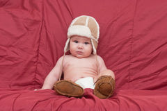 Boy in winter hat Royalty Free Stock Photography