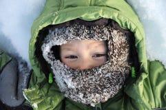 Boy at winter Royalty Free Stock Photo