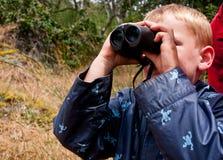 Free Boy With Binoculars Royalty Free Stock Image - 14972786