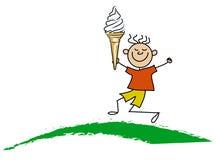 Free Boy With Icecream Stock Photo - 2618290