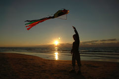 Free Boy With Kite Royalty Free Stock Images - 1533669