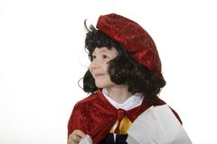 Boy in Wizard Costume Stock Image