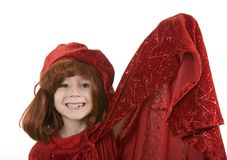 Boy in wizard costume Stock Photos