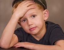 Boy Wondering Royalty Free Stock Images