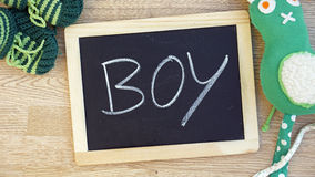 Boy written Stock Photography
