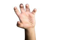 Boy& x27; s-Hand Stockbild
