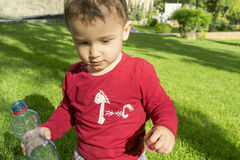 Boy 2 years Stock Photos