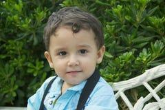 Boy 2 years outdoors Stock Photos