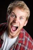Boy Yelling Stock Images
