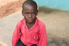 Boy in Zambia Royalty Free Stock Photography
