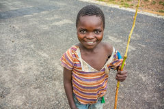 Boy in Zambia Royalty Free Stock Images