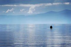 Boya de Taupo del lago Fotos de archivo libres de regalías